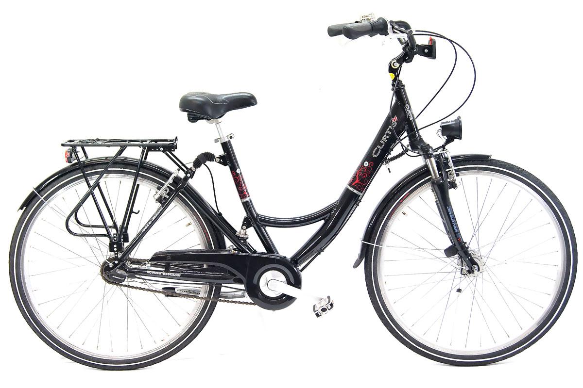 top curtis city full suspension fahrrad 28 zoll 7 gang. Black Bedroom Furniture Sets. Home Design Ideas