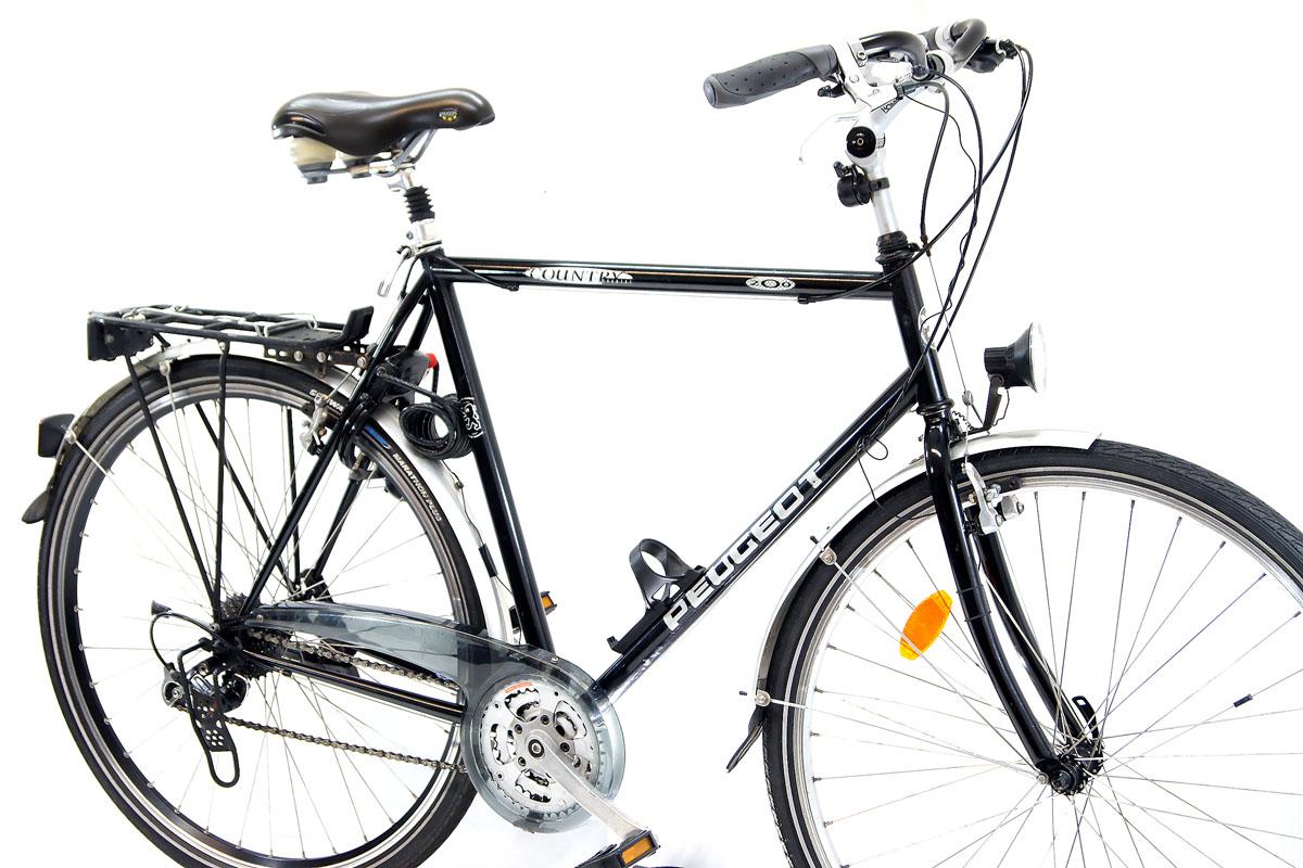 top peugeot herren trekking fahrrad 28 shimono deore lx. Black Bedroom Furniture Sets. Home Design Ideas