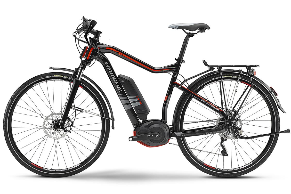 haibike herren elektro trekking fahrrad bosch 400w xduro. Black Bedroom Furniture Sets. Home Design Ideas