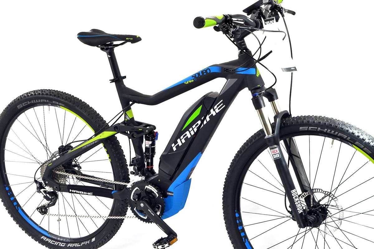 nuevo elektro haibike mtb bicicleta sduro yamaha fullnine. Black Bedroom Furniture Sets. Home Design Ideas
