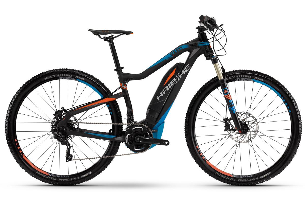 haibike elektro mtb fahrrad sduro yamaha 400wh hardnine rx. Black Bedroom Furniture Sets. Home Design Ideas