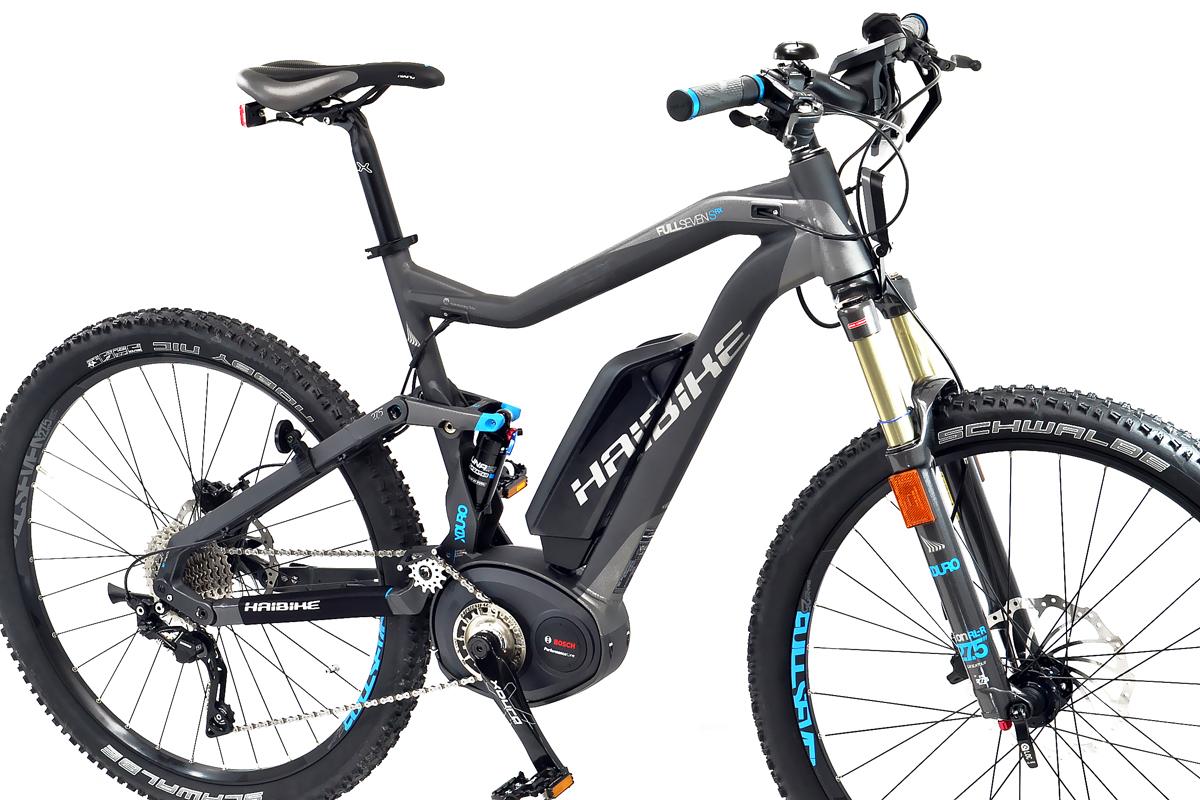 haibike elektro fahrrad xduro bosch 45 km h fullseven s rx. Black Bedroom Furniture Sets. Home Design Ideas