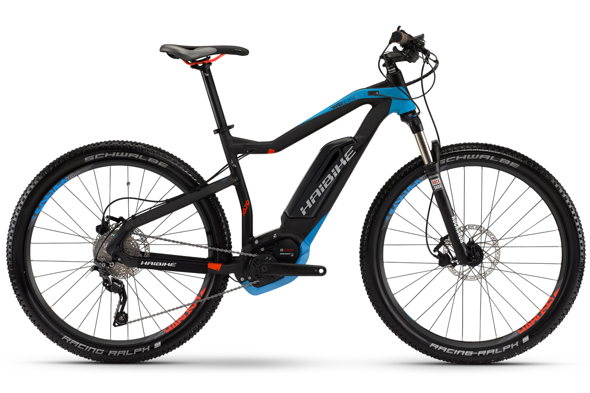 neu haibike elektro fahrrad xduro bosch cx hardseven rc. Black Bedroom Furniture Sets. Home Design Ideas