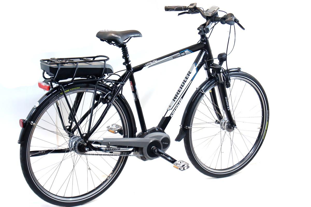 kreidler herren elektro fahrrad eco3 bosch 400wh 7 gang. Black Bedroom Furniture Sets. Home Design Ideas