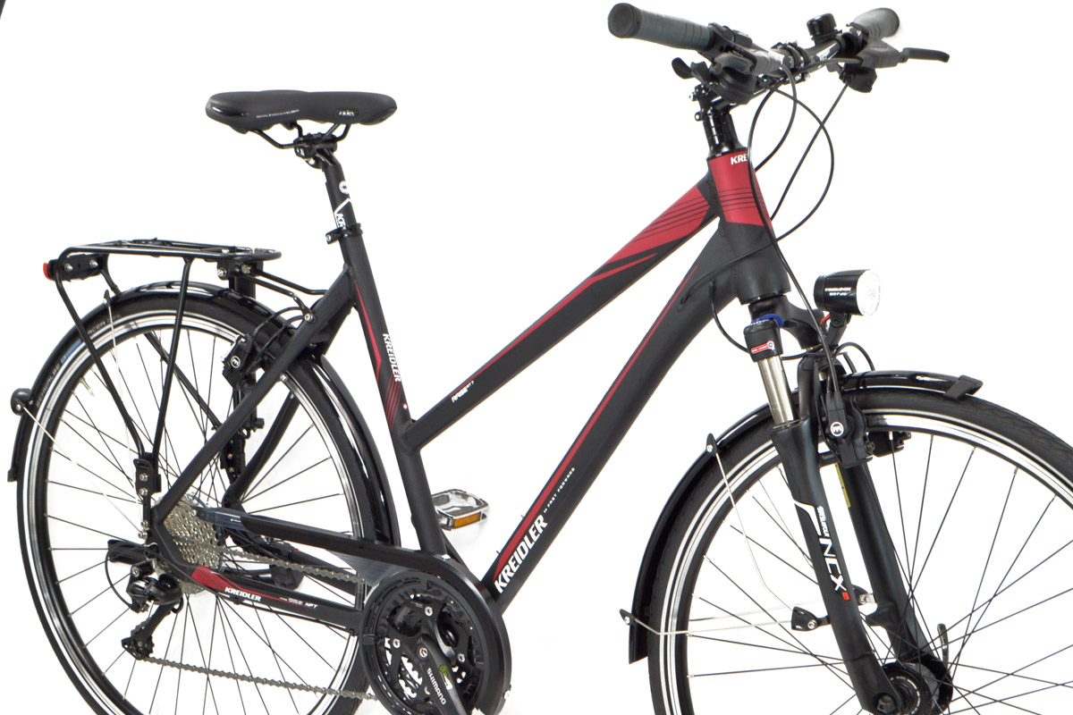 neu kreidler damen trekking fahrrad rt7 30 gang deore. Black Bedroom Furniture Sets. Home Design Ideas