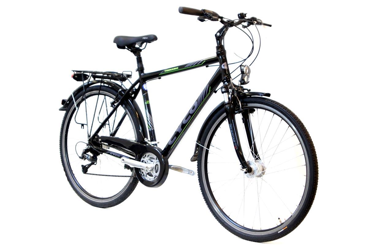 neu prophete herren trekking fahrrad shimano deore 24 gang nabendynamo led licht ebay. Black Bedroom Furniture Sets. Home Design Ideas