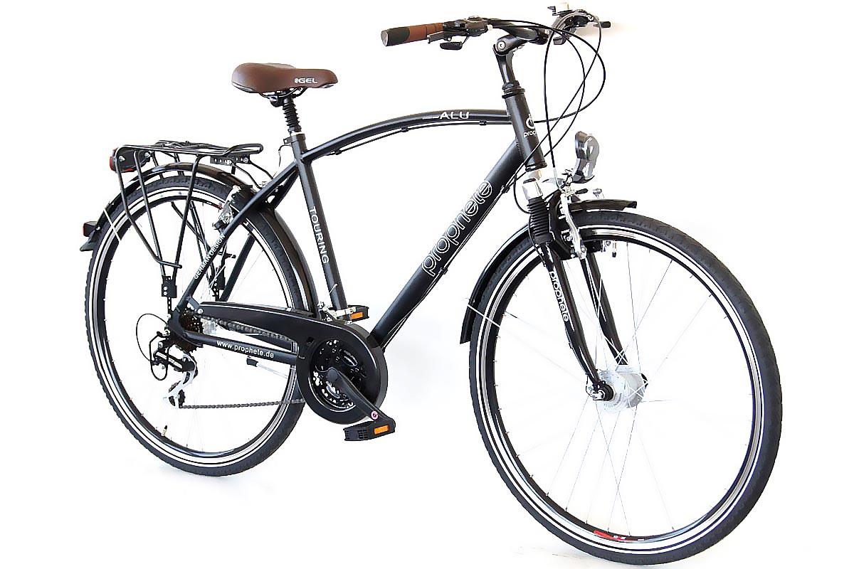 prophete travel 500 trekking herren fahrrad 28 24 gang shimano deore nabendynamo ebay. Black Bedroom Furniture Sets. Home Design Ideas