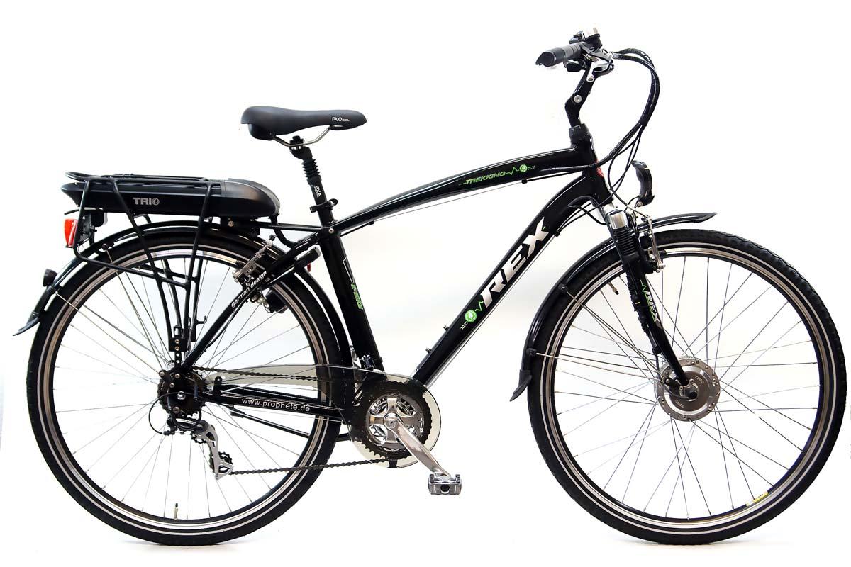 neu prophete herren trekking elektro fahrrad etk 500 e bike 36 volt 10ah 21 gang ebay. Black Bedroom Furniture Sets. Home Design Ideas