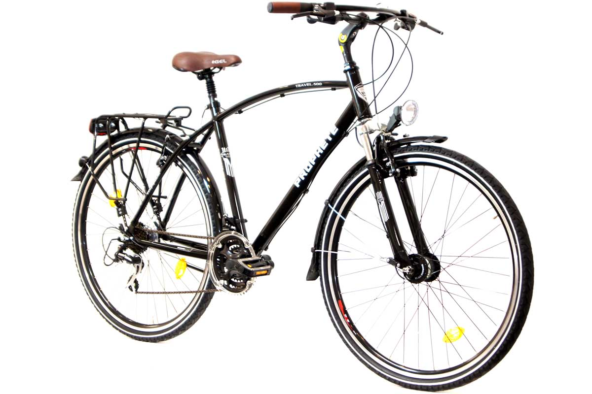 prophete travel 500 trekking herren fahrrad 28 21 gang shimano acera nabendynamo ebay. Black Bedroom Furniture Sets. Home Design Ideas