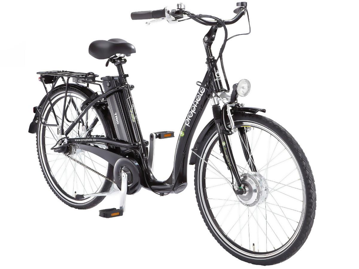 neu prophete elektro fahrrad e bike tiefeinsteiger pedelec 26 led 7 gang 2012 ebay. Black Bedroom Furniture Sets. Home Design Ideas