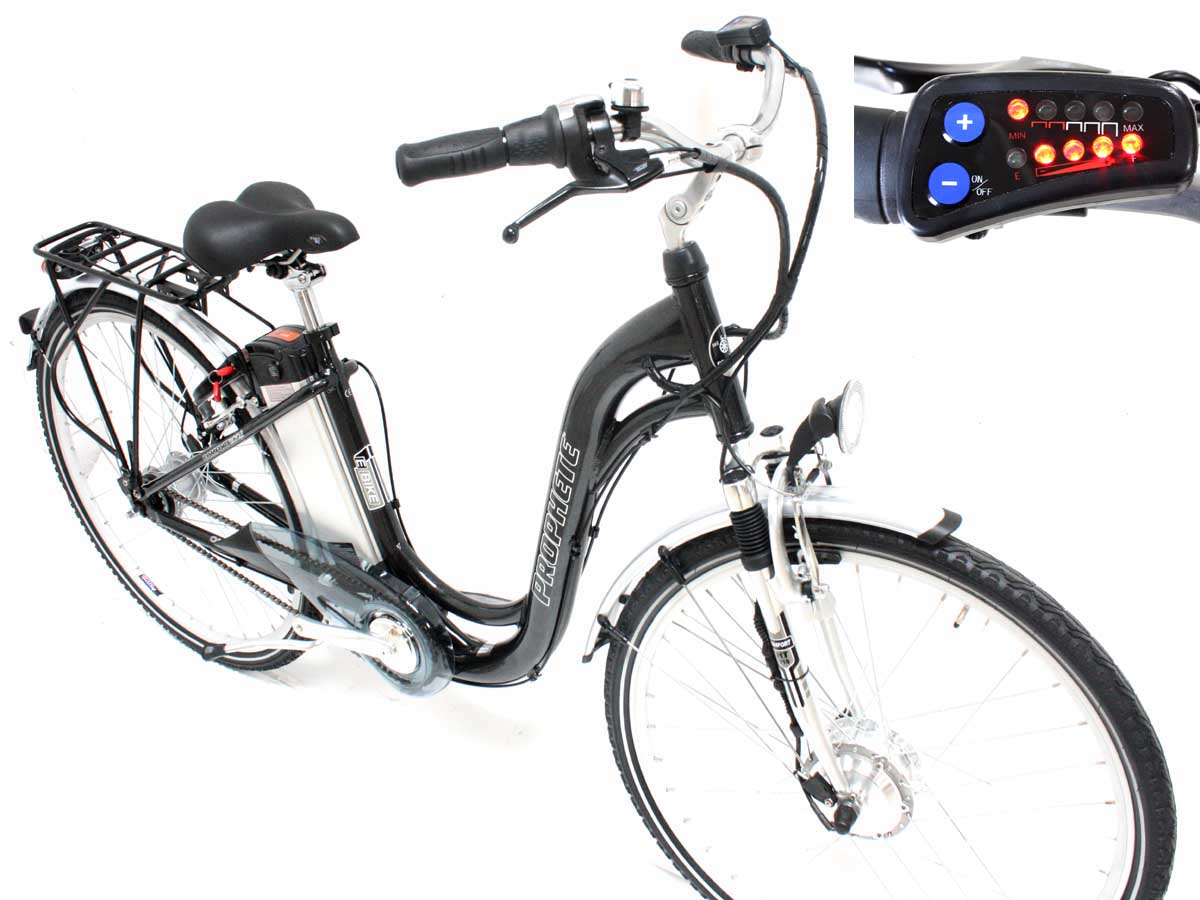 neu prophete elektro fahrrad e bike 26 zoll led 36 volt 8 gang nabe pedelec ebay. Black Bedroom Furniture Sets. Home Design Ideas