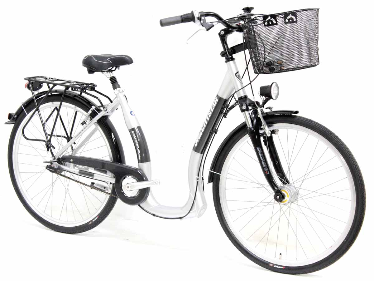 top prophete damen city tiefeinsteiger fahrrad 28 7 gang. Black Bedroom Furniture Sets. Home Design Ideas
