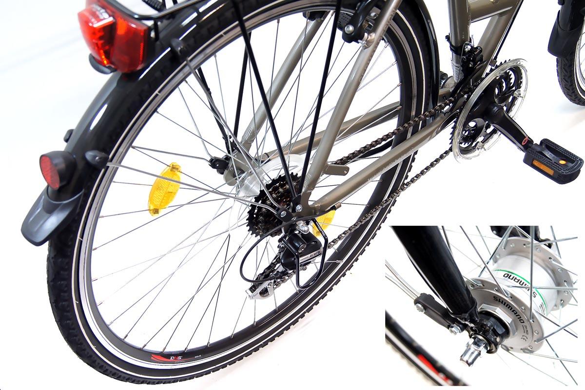 neu prophete trekking damen fahrrad 28 travel 24 gang acera 2 jahre home service ebay. Black Bedroom Furniture Sets. Home Design Ideas