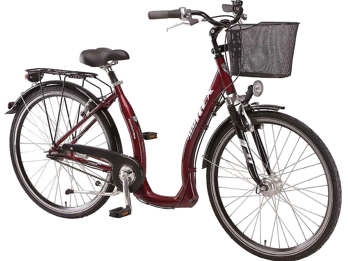 neu prophete damen city tiefeinsteiger fahrrad 28 7 gang sram nabenschaltung ebay. Black Bedroom Furniture Sets. Home Design Ideas