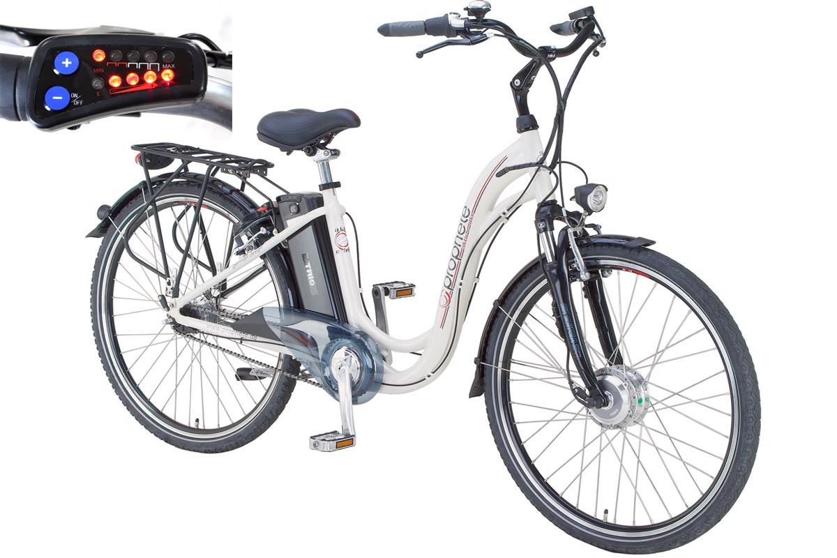 sonderaktion prophete aktiv elektro fahrrad 28 e bike led 36 volt 7 gang sram ebay. Black Bedroom Furniture Sets. Home Design Ideas
