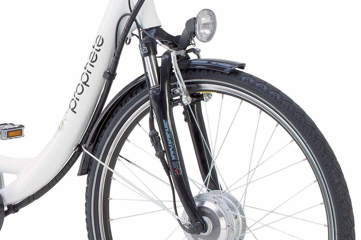 top damen elektro fahrrad e bike pedelec prophete led 36. Black Bedroom Furniture Sets. Home Design Ideas
