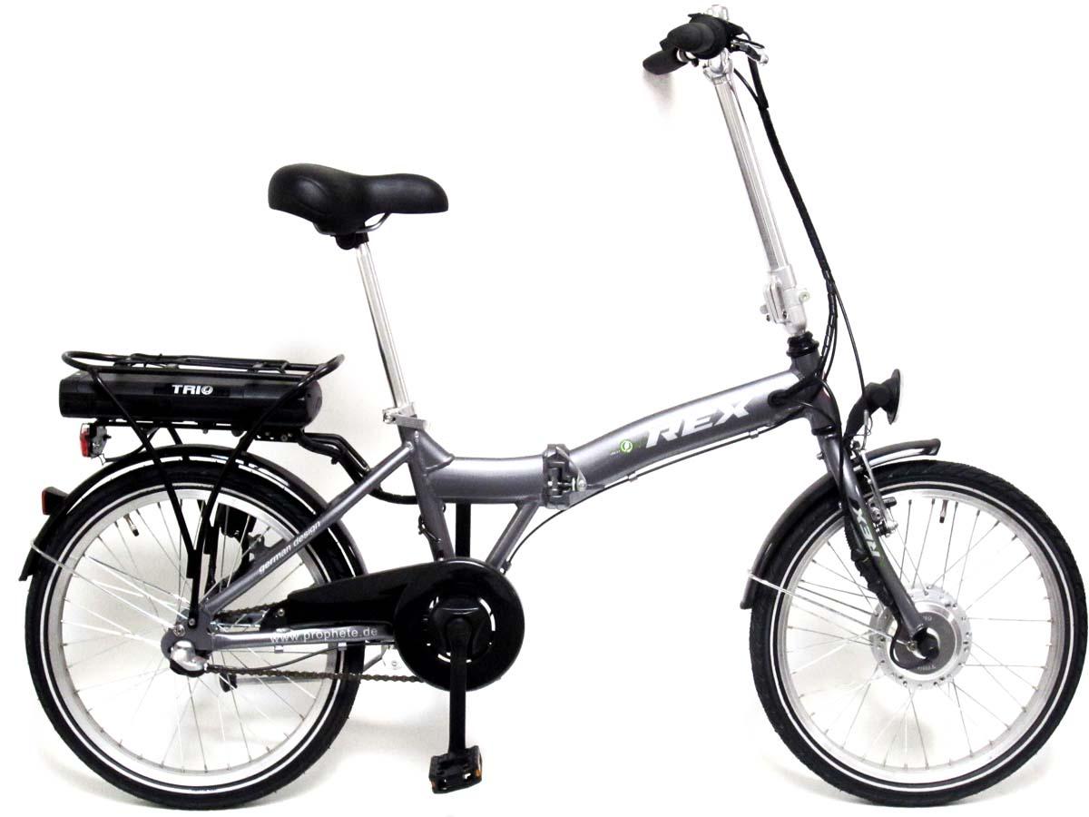 neu prophete elektro klapprad falt rad elektro fahrrad 20. Black Bedroom Furniture Sets. Home Design Ideas