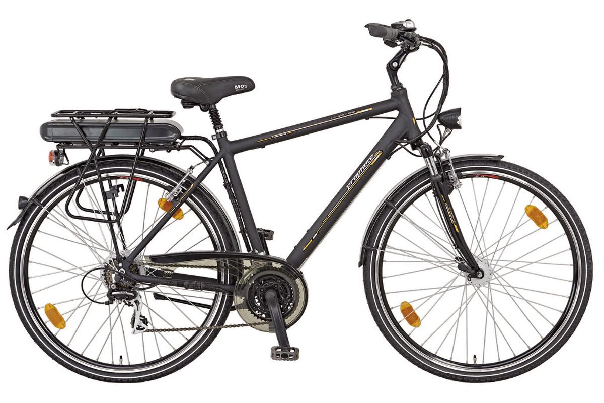 neu prophete herren trekking elektro fahrrad e bike comfort line 21 gang shimano ebay. Black Bedroom Furniture Sets. Home Design Ideas