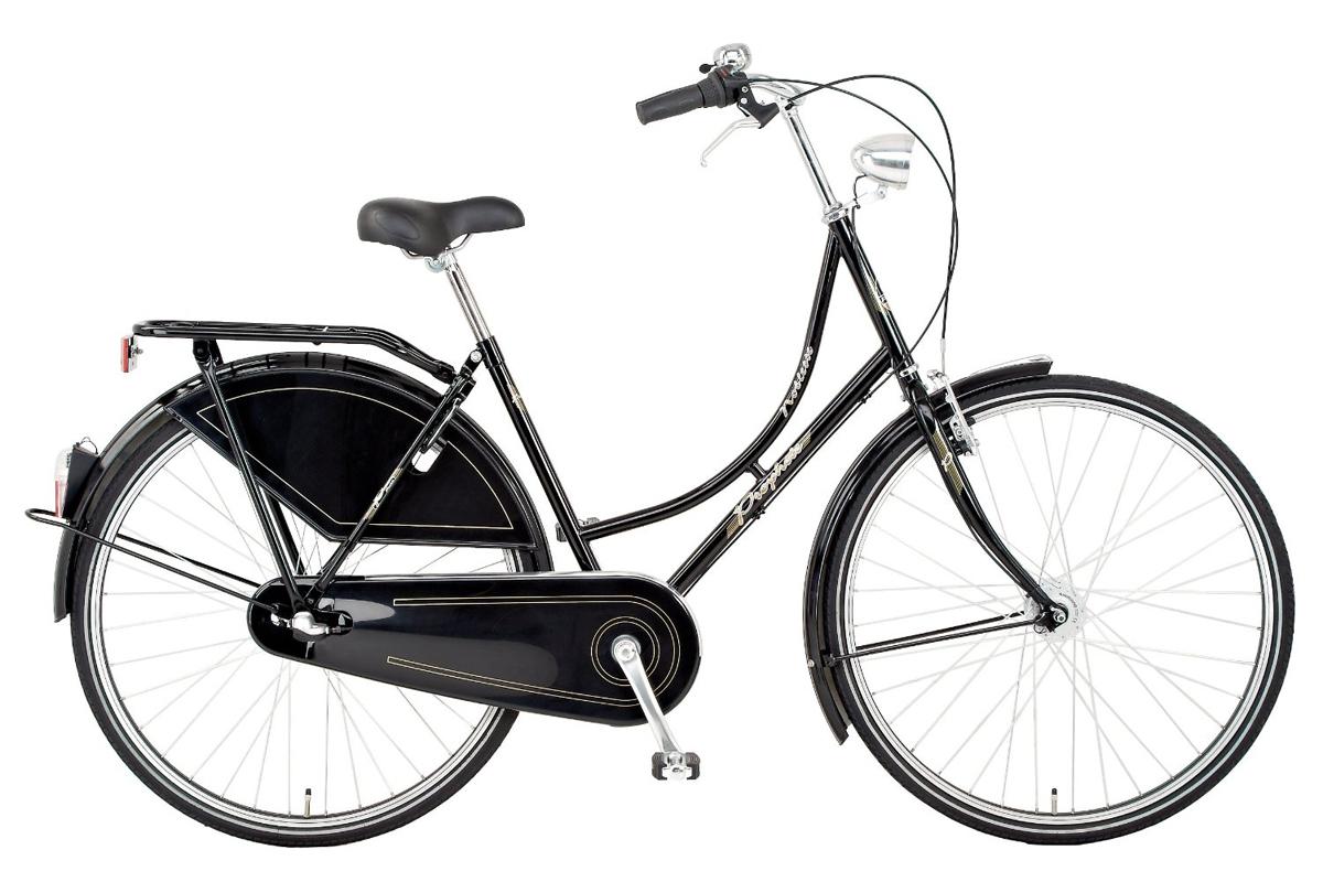 prophete noblesse nostalgie holland fahrrad schwarz 3 gang shimano nexus nabe ebay. Black Bedroom Furniture Sets. Home Design Ideas