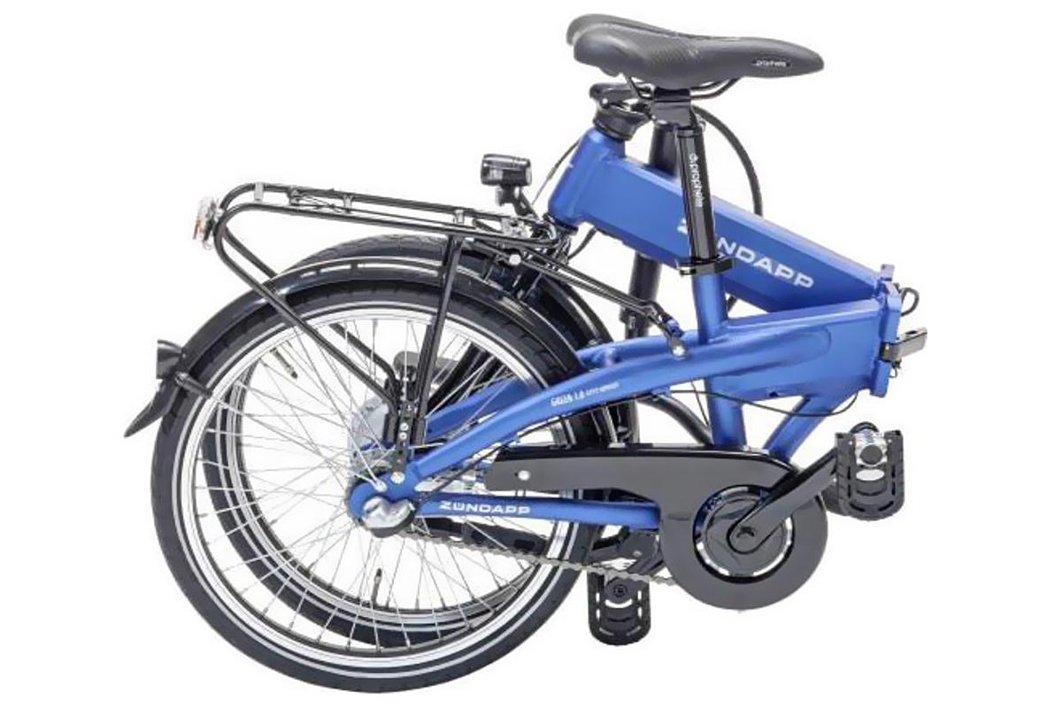 neu z ndapp elektro klapprad fahrrad 20 zoll panasonic. Black Bedroom Furniture Sets. Home Design Ideas