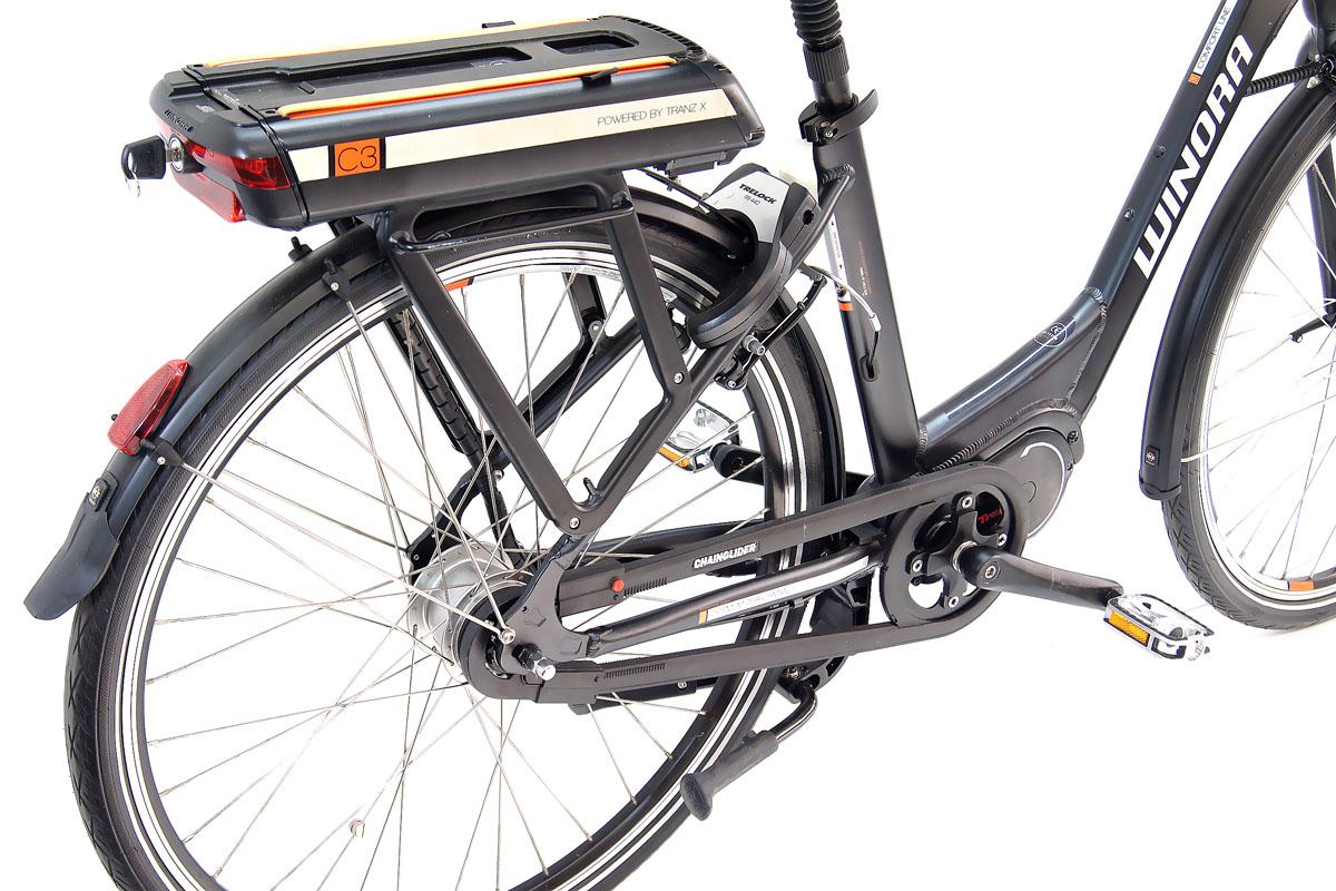 neu winora elektro fahrrad e bike c3 mittelmotor 396 wh 8. Black Bedroom Furniture Sets. Home Design Ideas