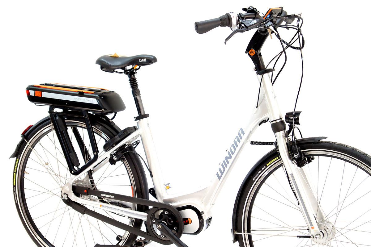 neu winora elektro fahrrad e bike c3 mittelmotor 396wh 8. Black Bedroom Furniture Sets. Home Design Ideas