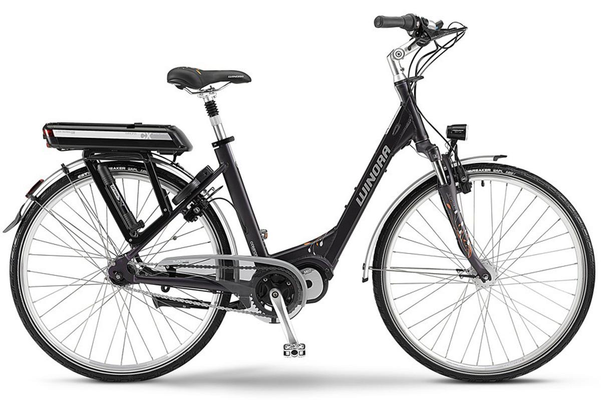 winora elektro fahrrad e bike cx 7 purple mittelmotor. Black Bedroom Furniture Sets. Home Design Ideas