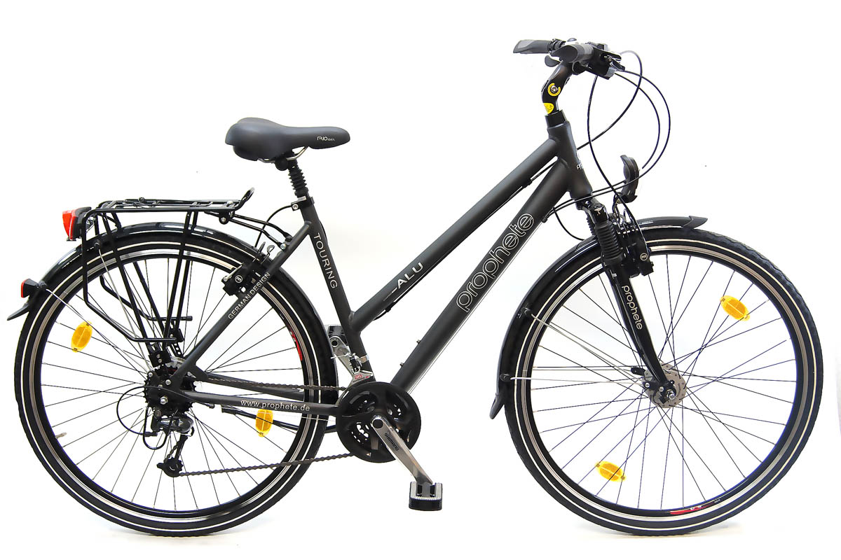 neu prophete damen trekking fahrrad shimano deore 24 gang magura hs11 bremsen ebay. Black Bedroom Furniture Sets. Home Design Ideas