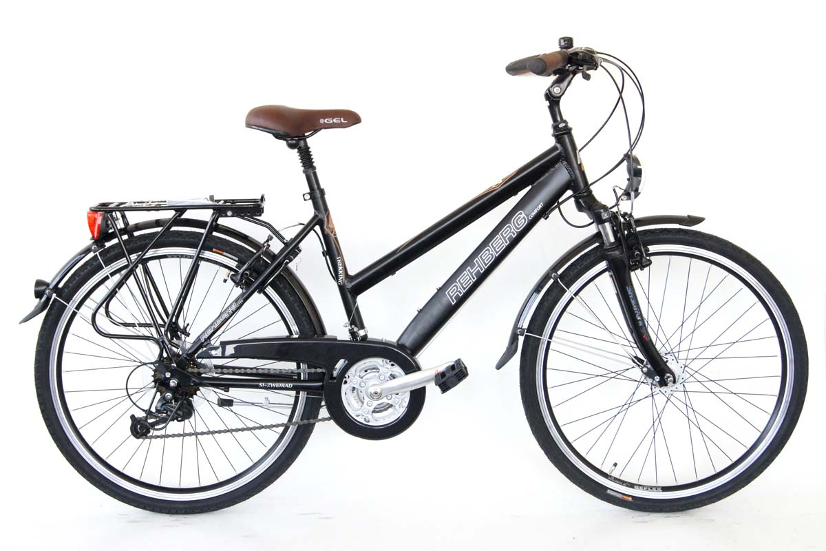 neu prophete damen trekking fahrrad 26 24 gang shimano deore nabendynamo. Black Bedroom Furniture Sets. Home Design Ideas