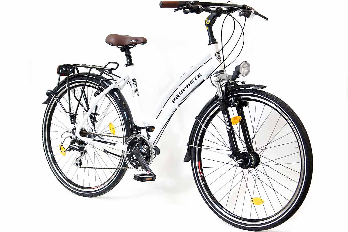 neu prophete trekking damen fahrrad 26 zoll travel 500 21 gang shimano acera ebay. Black Bedroom Furniture Sets. Home Design Ideas