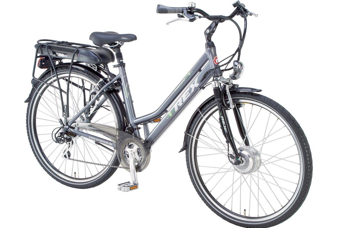 neu prophete alu rex damen trekking elektro fahrrad e bike. Black Bedroom Furniture Sets. Home Design Ideas