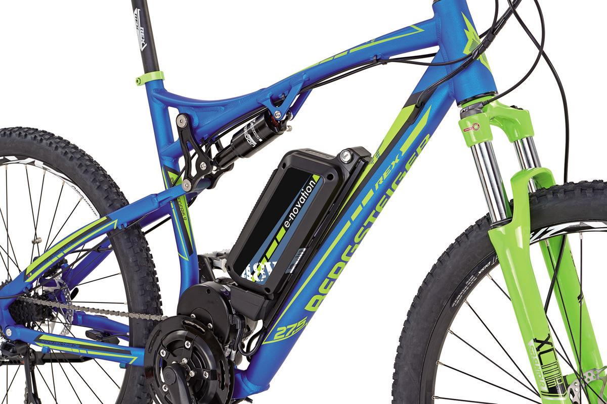 neu prophete elektro fully mtb fahrrad 48 volt bergsteiger. Black Bedroom Furniture Sets. Home Design Ideas