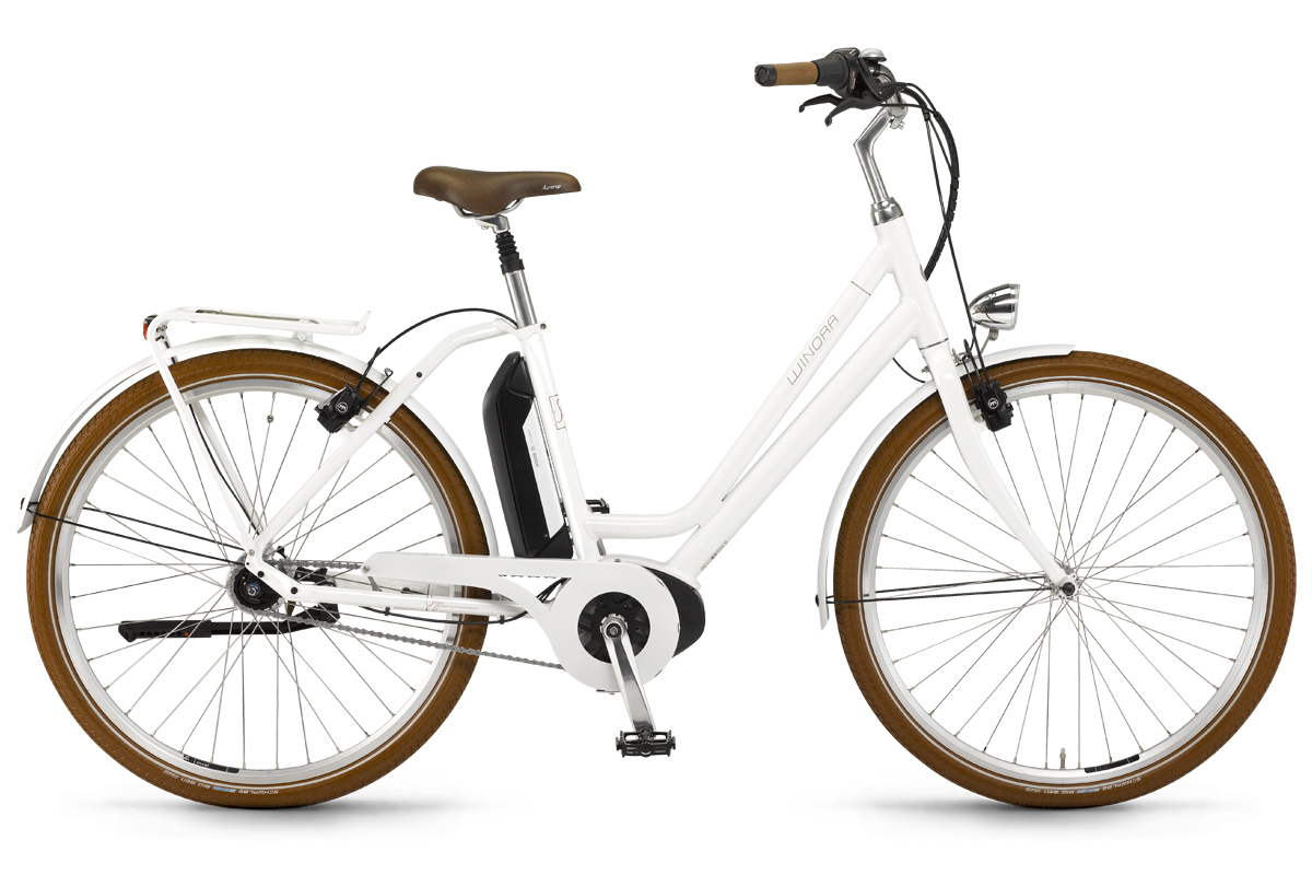 winora city elektro fahrrad 26 zoll bosch 400wh saya 7. Black Bedroom Furniture Sets. Home Design Ideas